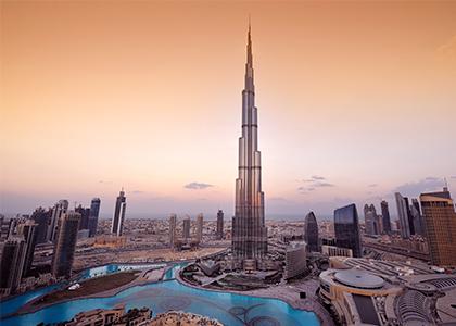 Burj Khalifa - Rejser til Dubai