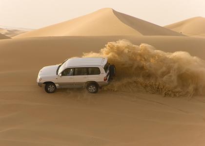 Ørken adventure jeep - Rejser til Dubai
