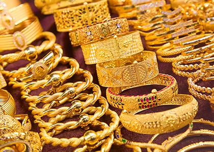 Gold Souk - Shopping på rejsen til Dubai