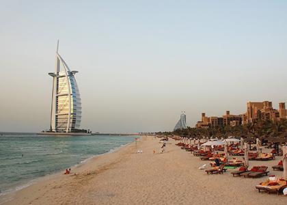 Burj Al Arab på Jumeirah Beach - Rejser til Dubai