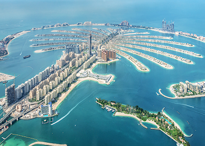 Palm Jumeirah - Rejser til Dubai