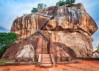 Se Lion Rock i Sigiriya, Sri Lanka