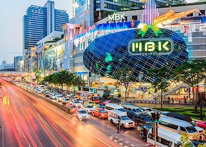 MBK shoppingcenter i Bangkok