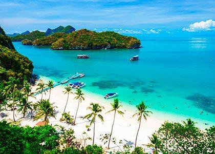 Rejser til Koh Samui i Thailand