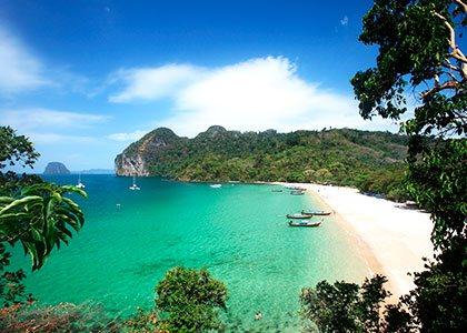 Rejser til det sydøstlige Thailand