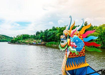 Rejser til Hue i Vietnam